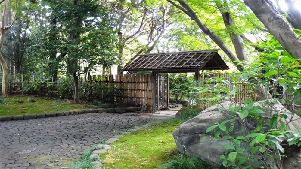 日本庭園地区