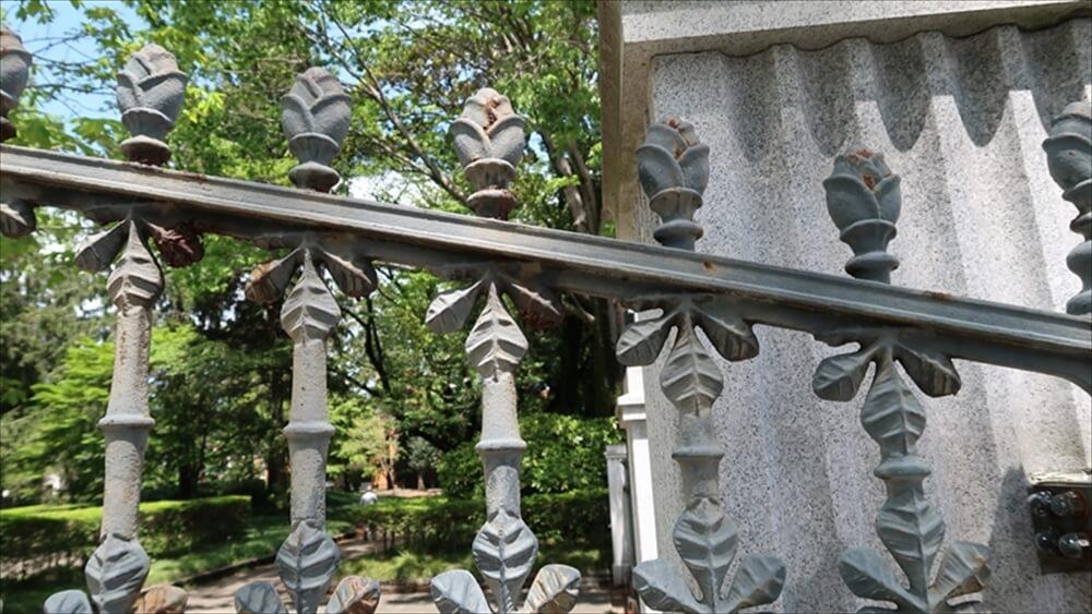 門扉の装飾