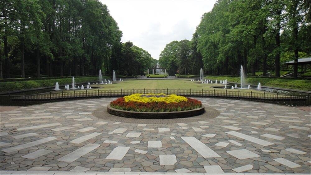 記念広場地区