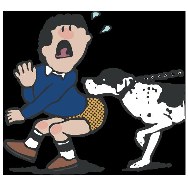 犬の散歩(ペットを連れての入園)