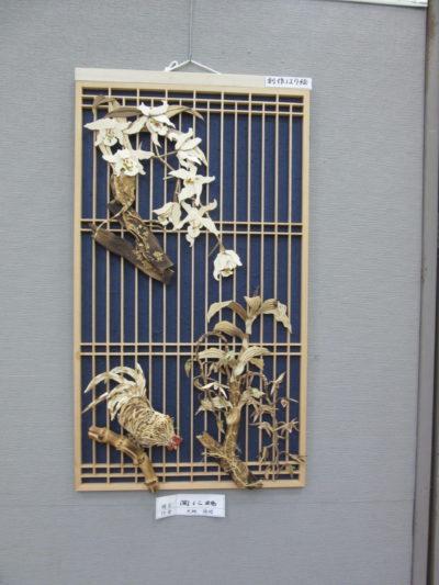 竹はり絵展